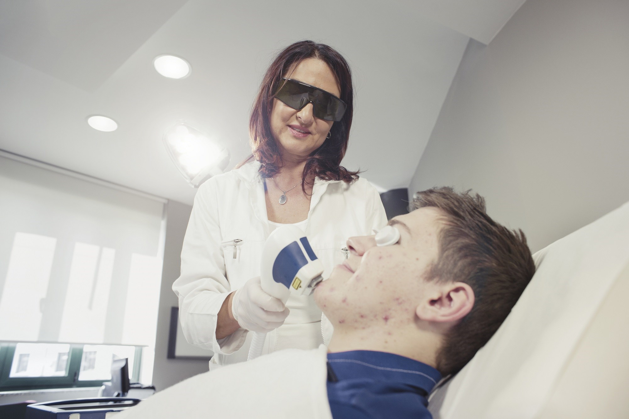 Combination YAG Laser Therapy Provides Effective, Sustained Acne Treatment
